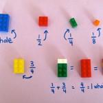 【話題】NYの小学校教師が考案した「LEGOを使った分数の教え方」